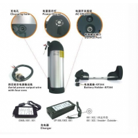 36V10Ah lithium ion battery with bottle type